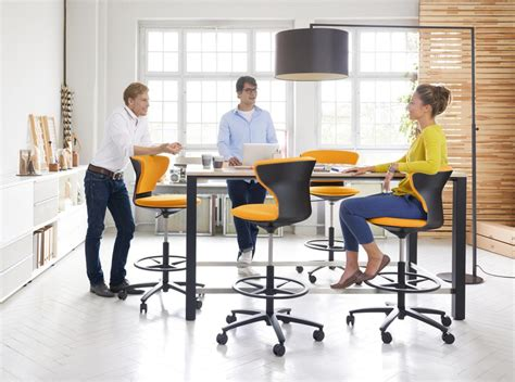 High Top Meeting Table Media Table Temptation High Collaborative Team Table