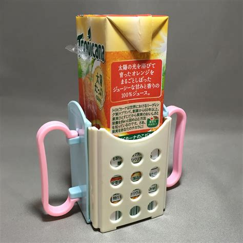 daiso japan folding drink box holder 100 yen shopping
