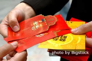 giving envelopes at new year envelopes and packets lucky money during