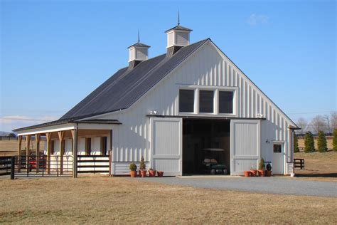 3 Stall Garage Plans by Horse Barns Pictures To Pin On Pinterest Pinsdaddy