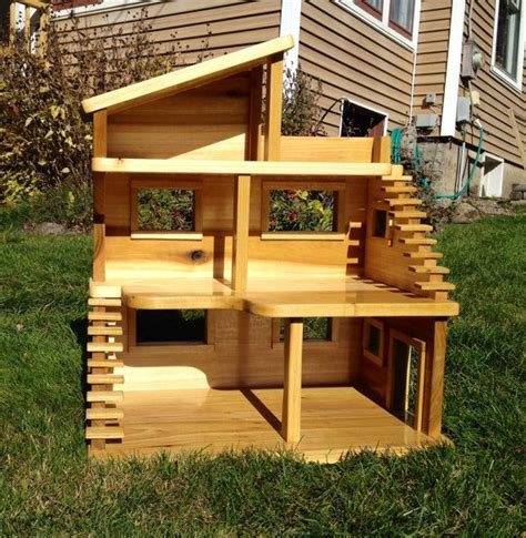 Handmade Wooden Dollhouse - 17 best images about welcome to the dollhouse on