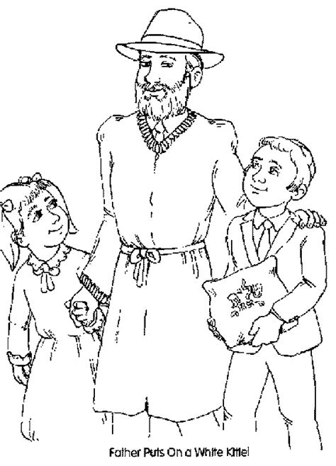 high holidays yom kippur coloring pages for kids family