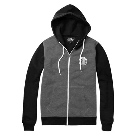 Hoodie Zipper Team Tsm 2 bjerger king pocket tsm shop