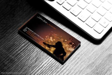 Dj Business Card Template Photoshop by Free Dj Business Card Template Business Cards Templates