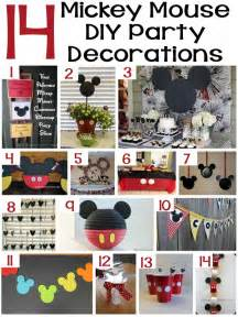 mickey mouse decorations boredombustercrafts easy crafts of all kinds mickey