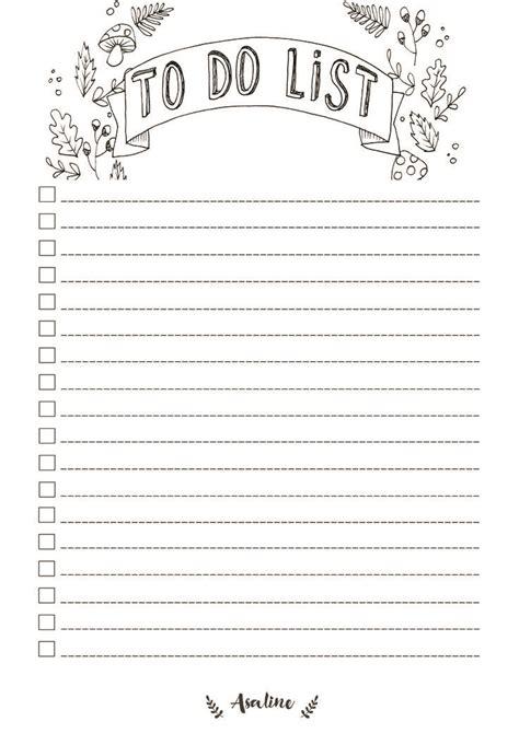 To Do Liste Ideen by Die Besten 25 To Do Liste Vorlage Ideen Auf