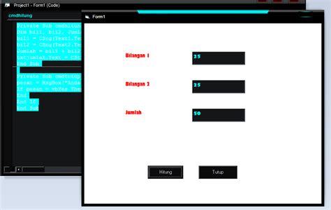 artikel membuat radio sederhana membuat program kalkulator sederhana menggunakan visual