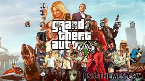 ps3 themes hd gta 5 ps3 themes 187 gta v theme 1 v1 0