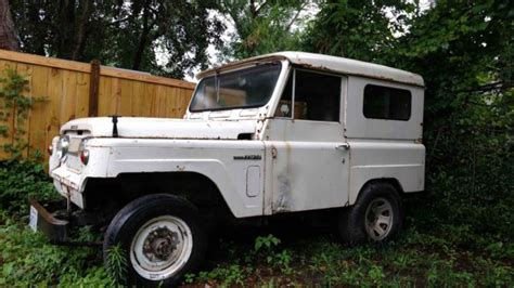 nissan patrol classic 1966 nissan patrol vintage 4wd runs and drives