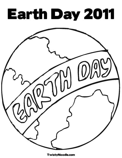 Fashion Pure Earth Day Coloring Pages Kindergarten Earth Day Coloring Page