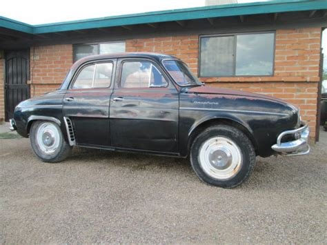 1960 renault dauphine vintage 1960 renault dauphine 4 door project or parts car