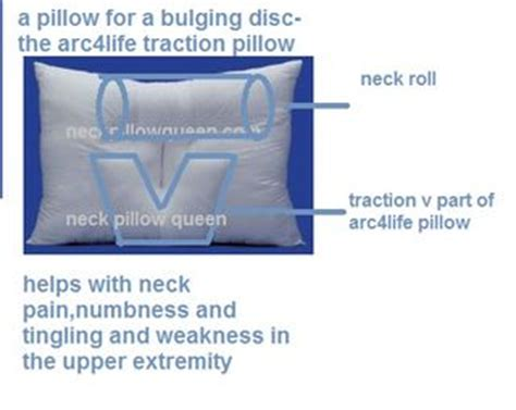 Best Pillow For Bulging Disc In Neck by The Of Neck Pillows Traction Pillows