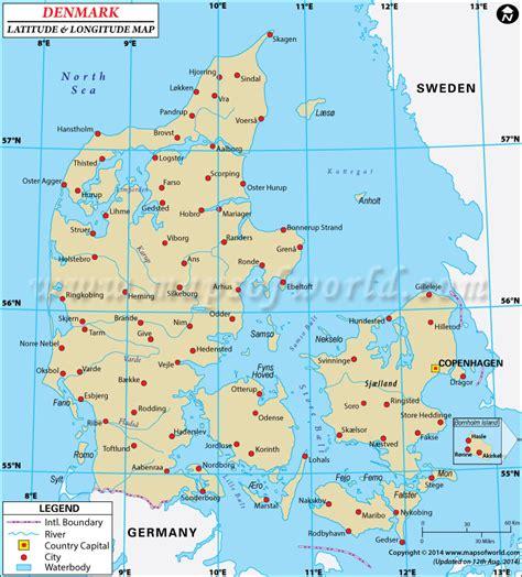Finder Denmark Denmark Latitude And Longitude Map