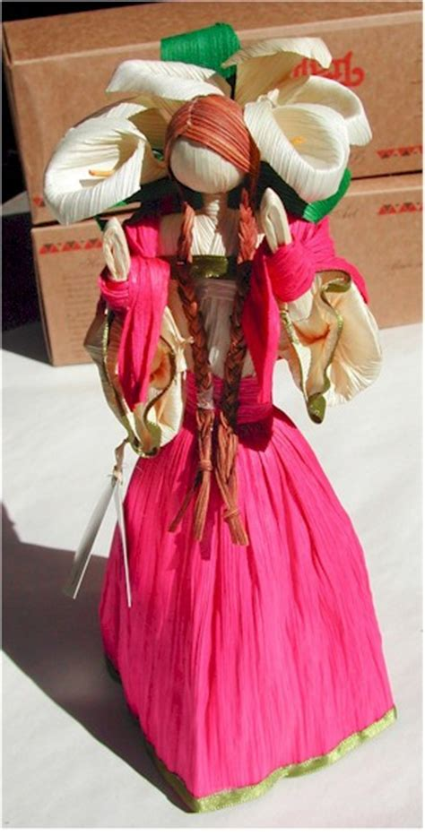 corn husk dolls mexico mexican cornhusk dolls article gourmetsleuth
