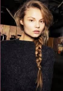 plaiting hair to grow it magdalena frackowiak hair pinterest big braids