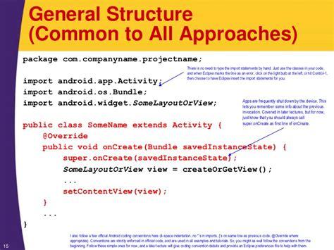 tutorial xml java android tutorial android programming basics xml java