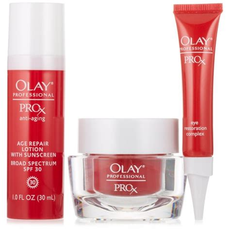 Olay Anti Aging olay professional pro x anti aging starter kit beautance cosmetics superstore