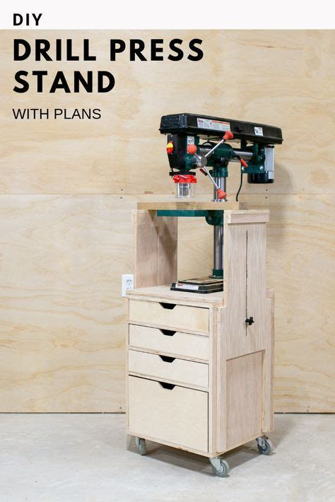 diy mobile drill press stand drill press stand wood