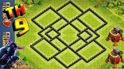 layout cv 7 farming youtube clash of clans layout de farm cv9 best th9 farming
