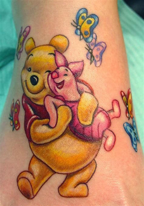winnie the pooh tattoos designs 15 different character designs with meanings