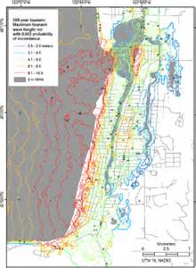 tsunami map oregon seaside oregon tsunami pilot study gis usgs ds 236