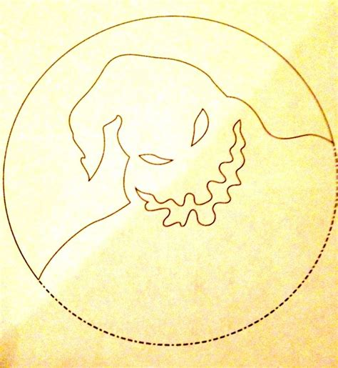 pattern stencil templates oogie boogie pumpkin pattern nightmare before