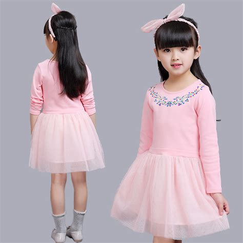 dress pattern for 8 year old aliexpress com buy 3 4 5 7 9 years old girls dress knee