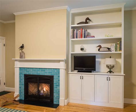 Fireplace Surround Bookcase by Fireplace Makeover Trimitsis Woodworking Weblog