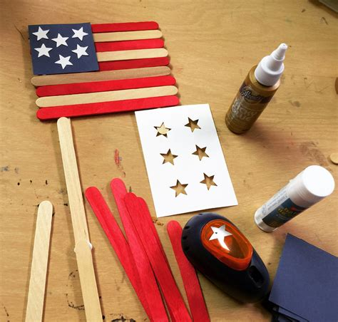 craft stick projects for craft stick flag projects for