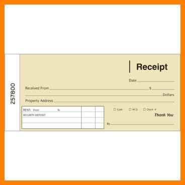Funeral Receipt Template by 9 Funeral Receipt Book Format Points Of Origins