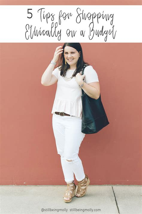 5 Budget Fashion Posts To Blogstalk by Ethical Shopping On A Budget 5 Tips Still Being Molly