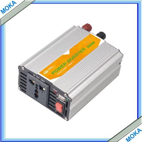 normal boat battery voltage 500w portable car truck boat usb dc 24v to ac 220v 240v