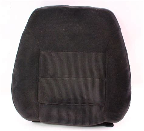 rh front seat  rest foam cover   vw jetta golf mk black cloth genuine