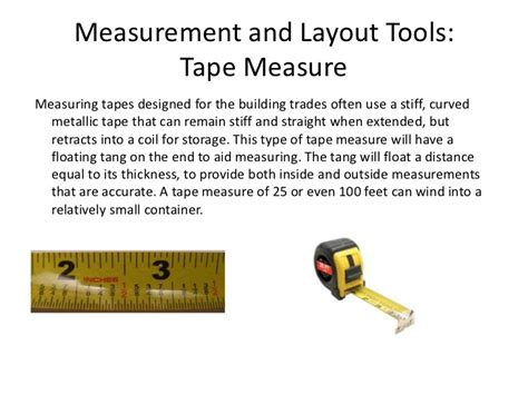 layout tool measurement and layout tools