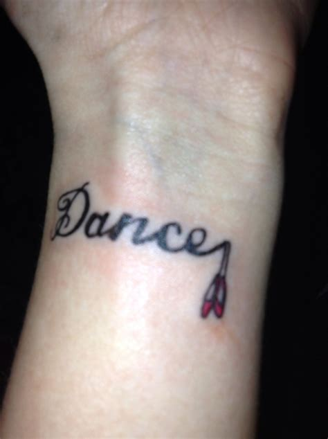 small dance tattoos ideas