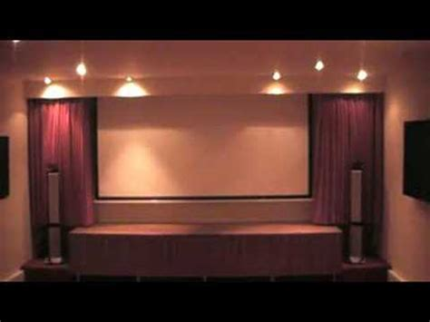motorized home theater curtains electric curtains youtube