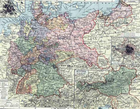 austria germany map germany and austria map germany mappery