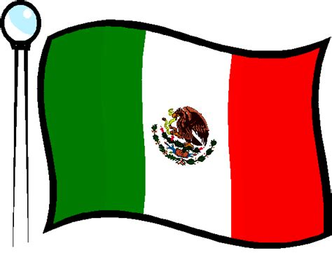 mexican flag clip clipart best