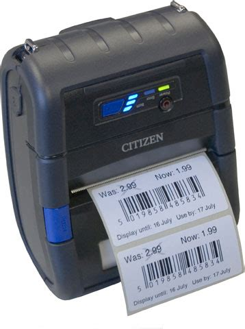 citizen cmp btu portable barcode printer  price   save