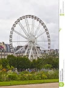 ferris wheel in tuileries garden stock images image