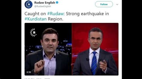 detik sepakbola siaran langsung detik detik terjadi gempa irak terekam saat siaran