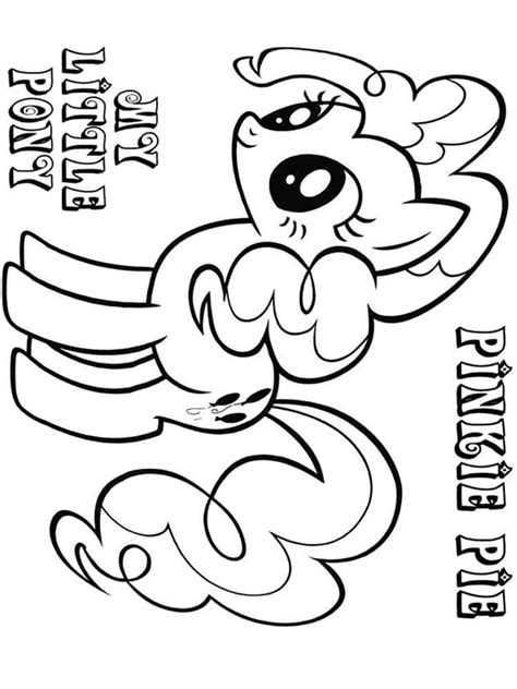 Pinkie Pie Coloring Page by Pinkie Pie Coloring Pages Free Printable Pinkie Pie