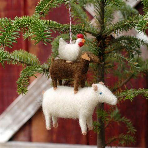 needle felted christmas ornament felt so good pinterest