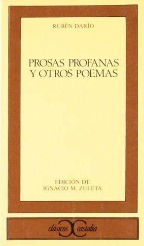 prosas profanas y otros 1117124606 dar 205 o rub 201 n autores quelibroleo descubre tu pr 243 xima lectura libros recomendados