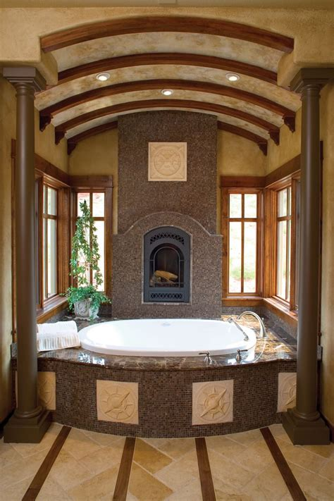 Bathrooms With Fireplaces - 146 best bathroom fireplaces images on dreams