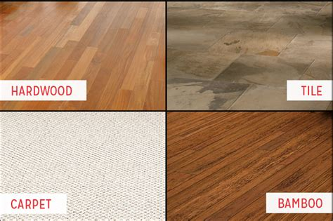 types of flooring materials classifying and most popular