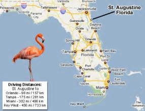 map of florida showing st augustine tours tours jacksonville florida st augustine