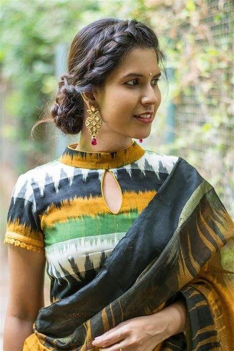 High Neck Blouse In by High Neck Blouse Blouse Designs Collection With High