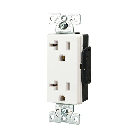 shop cooper wiring devices 20 white decorator duplex