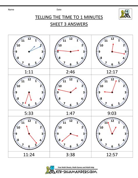 printable worksheets telling time clock telling time worksheet printable quotes